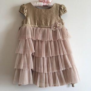 Biscotti Layered Dress